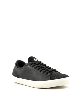 Men's Sperry Flex Deck LTT LEATHER Sneaker Black