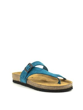 Naot Tahoe Sandal Pacific Blue Suede