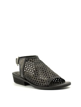 Veracruz Woven Sandal Black
