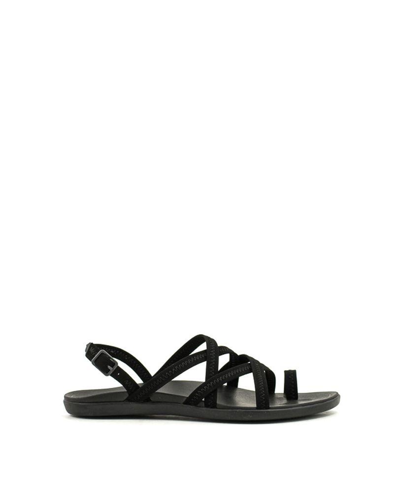 69bf980fb602 Olukai — Kalapu Sandal in Black at Shoe La La