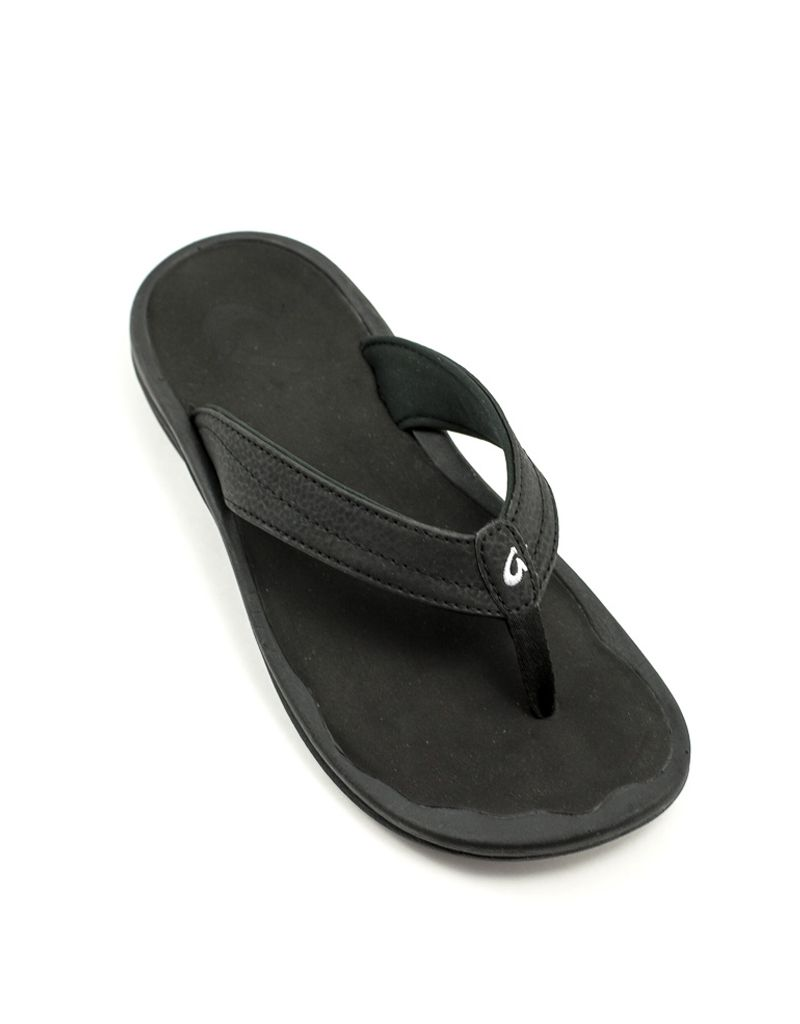 6fd86408f438 Olukai — Ohana Sandal in Black at Shoe La La