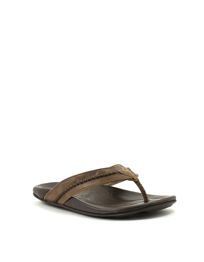 fe2558eeb48a Men s OluKai — Mea Ola Sandal in Tan Dk Java at Shoe La La