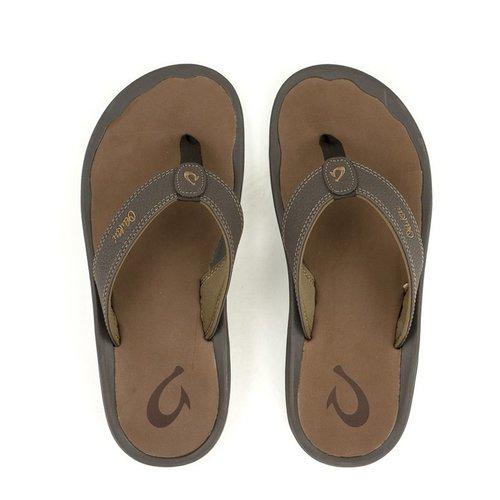 Men S Olukai I Ohana Sandal In Dark Java Ray At Shoe La La
