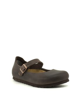 Birkenstock Mantova Shoe Habana Leather Narrow Width