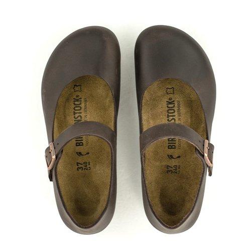 Birkenstock Birkenstock Mantova Shoe Habana Leather Narrow Width