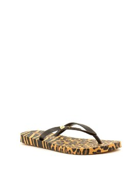 Ipanema Animal Print II Flip Flop Beige/Brown