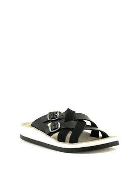 Fantasy Sandals S3002 Silvia Sandal Black