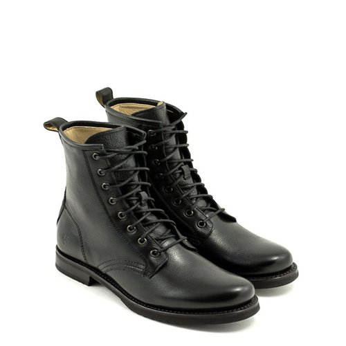 26c2c20a2 Frye — Veronica Combat Boot Black at Shoe La La