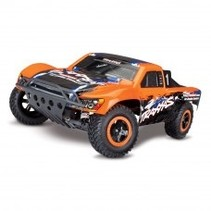TRAXXAS 1/10 SLASH 4WD BRUSHED VXL SHORT COURSE TRUCK ORANGE INCLUDES 8.4V BATTERY & 12V DC CHARGER