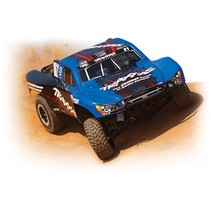 TRAXXAS SLASH 2WD VXL BRUSHLESS SHORT COURSE TRUCK BLUE  REQUIRES BATTERY & CHARGER