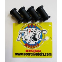 ELECTRIC ENGINE STANDOFF (SPACERS) 9.8X17mm M3 4 PACK