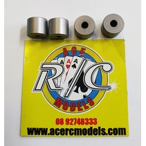 ELECTRIC ENGINE STANDOFF (SPACERS) 9.8X8mm M3 4 PACK