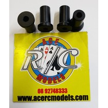 ELECTRIC ENGINE STANDOFF (SPACERS) 9.8X15mm M3 4 PACK