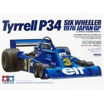 TAMIYA TYRRELL P34 1/20 Grand Prix Collection No.58 1976 JAPAN GP