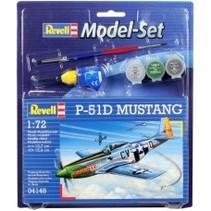 REVELL 1/72 P-51D MUSTANG MODEL SET