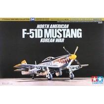 TAMIYA NORTH AMERICAN F-51D MUSTANG KOREAN WAR 1/72 SCALE