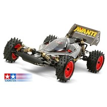 Rc Avante 2011 Black Special<br /> Ltd Edition <br /> Requires: 2-Channel Radio, servo, ESC (electronic speed control) 7.2volt battery pack &amp; charger, and Tamiya PS paint.