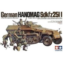TAMIYA GERMAN HANOMAG SD.KFZ.251/1 1/35 MODEL KIT