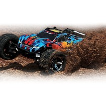 Traxxas 1/10 Rustler 4WD RTR BRUSHLESS VXL no batt or charger ( Just add either Nimh Or LIPO battery & charger )   GREEN OR RED COLOUR SCHEME AVAIL