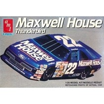 AMT 1991 Ford Thunderbird 'Maxwell House' # 22 Sterling Marlin (1/25) NASCAR