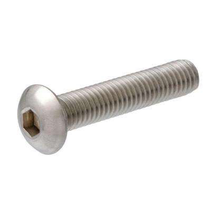 HY BUTTON HEAD SCREW WITH HEX HEAD 2.5MM X 10MM  ( 10PK )