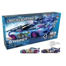 SCALEXTRIC STREET RACERS SLOT CAR SET