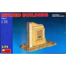 MINIART RUINED BUILDING 1/72 72017