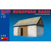 MINIART EAST EUROPEAN BARN 1/72 72018