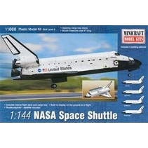 MINICRAFT NASA SPACE SHUTTLE 1/144