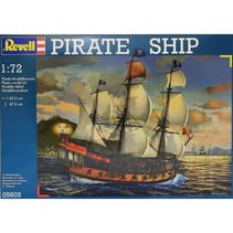 REVELL PIRATE SHIP 1/72 05605