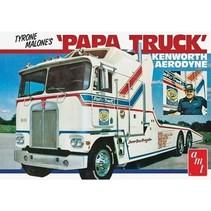 AMT 1/25 Tyrone Malone Kenworth Transporter Papa Truck