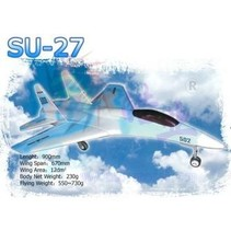 HY PAINTED SU27 BIG MODEL PAINTED REQUIRES 2 X HY 03-0601 FAN UNITS WITH BRUSHLESS MOTORS