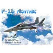HY PAINTED F 18 MODEL INCLUDES 2X HY030602 FANS WITH BRUSHLESS MOTORS<br />