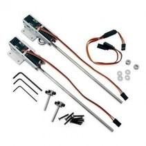 E-Flite 60-120 Electric Retracts, 90 deg Mains, strut ready