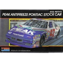 MONOGRAM 1989 PONTIAC GRAND PRIX PEAK #42 KYLE PETTY 1/24 NASCAR