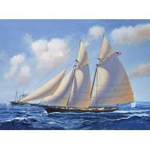 REVELL USS AMERICA 1:56 SCALE PLASTIC KIT