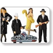 MOTOR HEAD 1/24 MINIATURES THE RUB OUT (4) GANGSTER #983