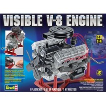 REVELL V8 VISIBLE ENGINE  1/4 SCALE
