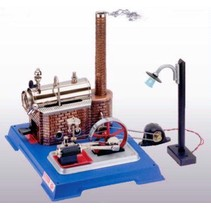 WILESCO ELECTRIC LIGHT STEAM ENGINE  D10