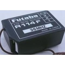 FUTABA 4CH MICRO RECEIVER R114F 10.9G WEIGHT 21.8 X 31.7 X 13.5MM now $45.00