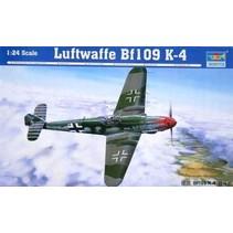 TRUMPETER LUFTWAFE BF109 K-4 1/24