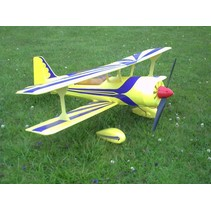 HY now $222 EPP FOAM PITTS M12 MODEL ARF INCL MOTOR, SPEED & SERVOS