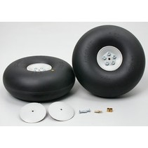"DUBRO 5- 1/2"" BIG WHEELS INFLATABLE TIRES"