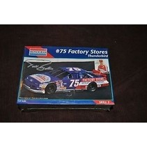 MONOGRAM #75 FACTORY STORES 1994 THUNDERBIRD NASCAR  1/24 MODEL KIT TODD BODINE