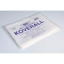 "SIG KOVERALL 48"" X 65"" LIGHT WEIGHT FABRIC"