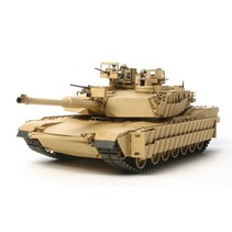 TAMIYA 1/35 U.S. MAIN BATTLE TANK M1A2 SEP ABRAMS TUSK II ( WITH 2 FIGURES & 3 TYPES OF MARKINGS INCLUDED )