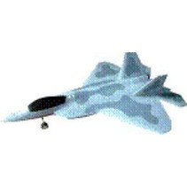 HY F22 RAPTOR PLANE WITH 2 X DUCTED FANS &amp; BRUSHLESS OUTRUNNER MOTOR<br />( OLD CODE HY280110 )