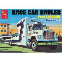 AMT FORD LN 8000 RACE CAR HAULER LOUISVILLE LINE 1:25 RETRO DELUXE PLASTIC KIT