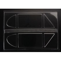 GREAT PLANES SIDE WINDOWS FOR J-3 CUB 40 SIZE  GPMQ2332