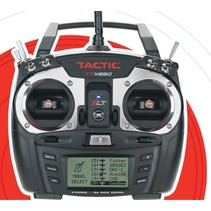 TACTIC TTX650 2.4GHZ 6CH SLT COMPUTER RADIO WITH TR625 twin antenna receiver